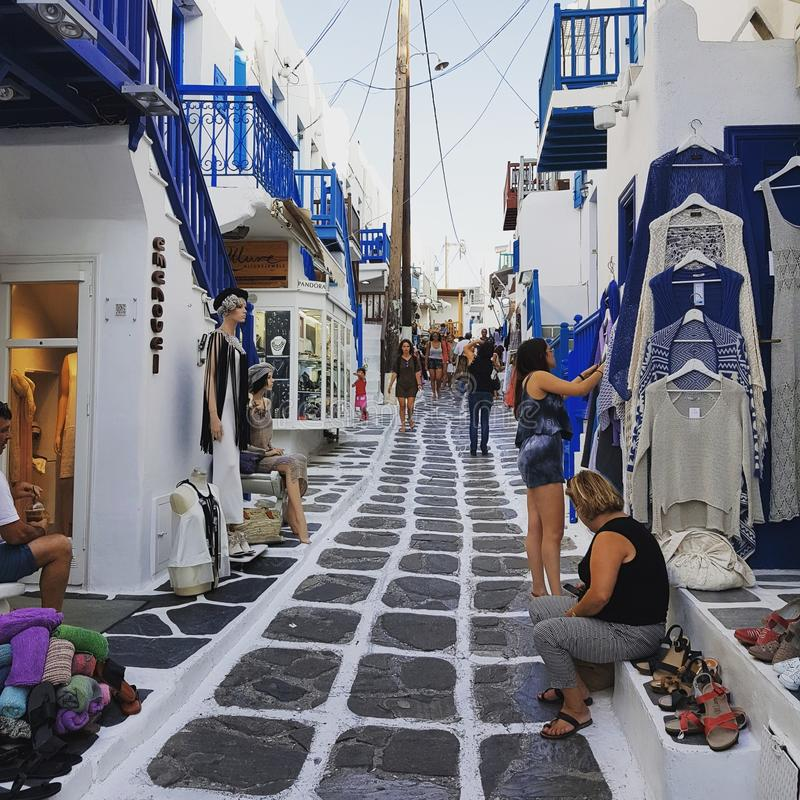 Mykonos. Such an beautiful city royalty free stock image
