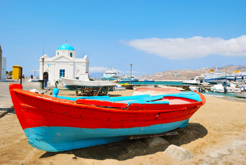 Download Mykonos town stock photo. Image of greece, myconos, holiday - 18397820