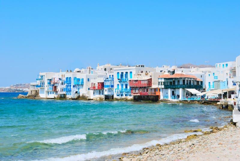 Download Mykonos Venice острова маленькие Стоковое Изображение - изображение насчитывающей романтично, греческо: 18398535