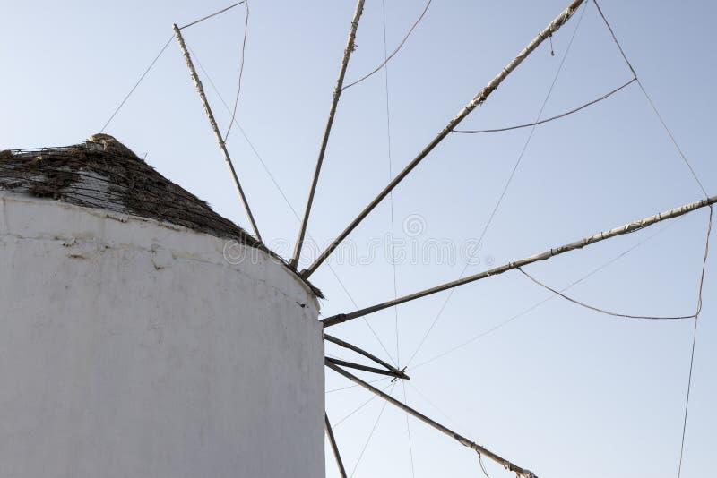 Mykonos-Windmühle lizenzfreie stockfotografie