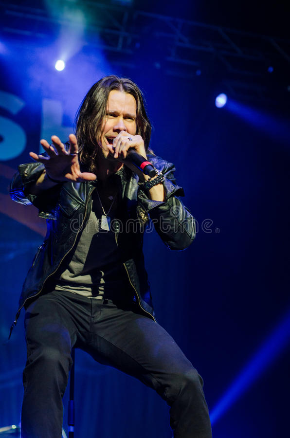 Myles Kennedy images stock