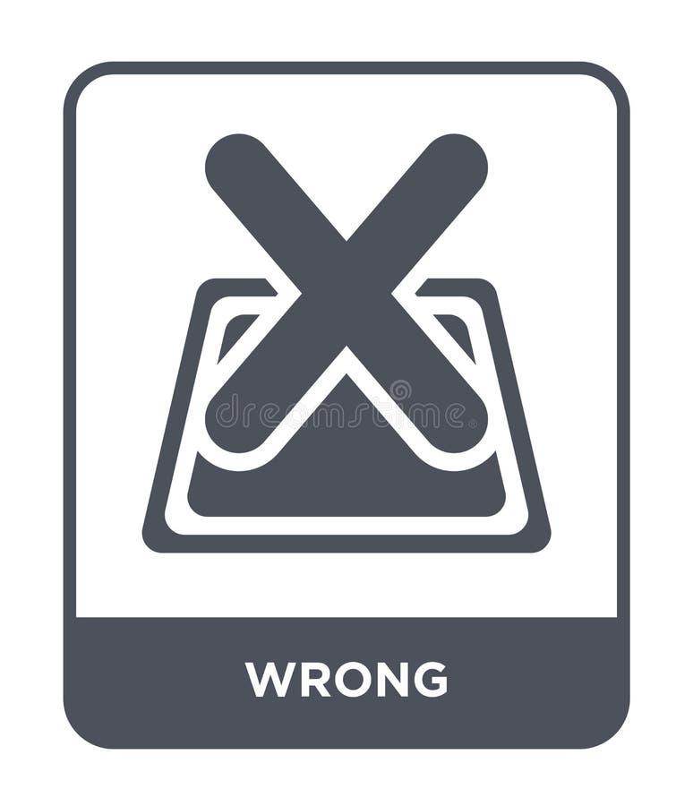mylna ikona w modnym projekta stylu mylna ikona odizolowywająca na białym tle mylnej wektorowej ikony prosty i nowożytny płaski s ilustracji