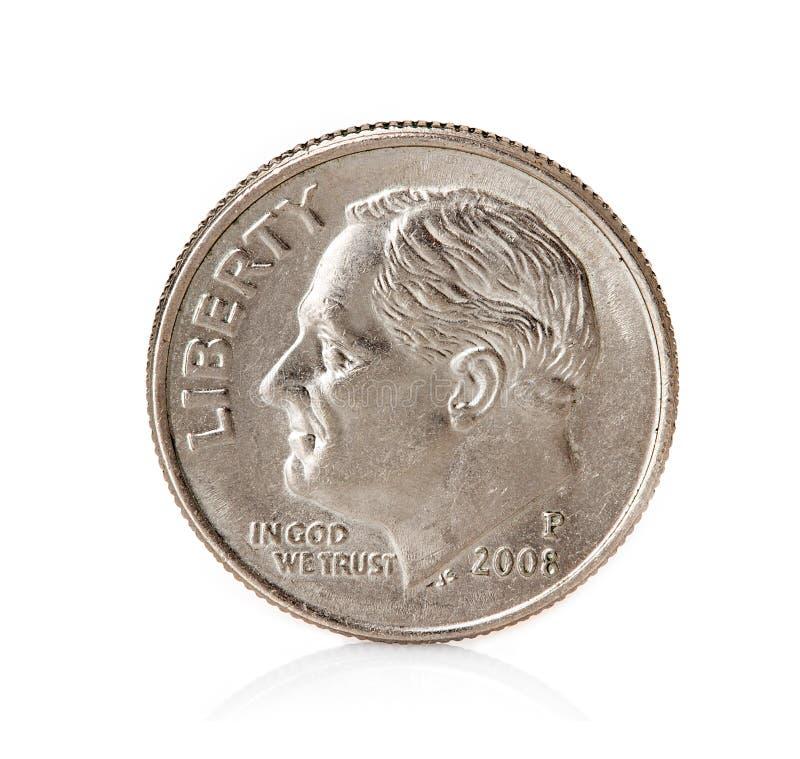 Mynt cent royaltyfri fotografi