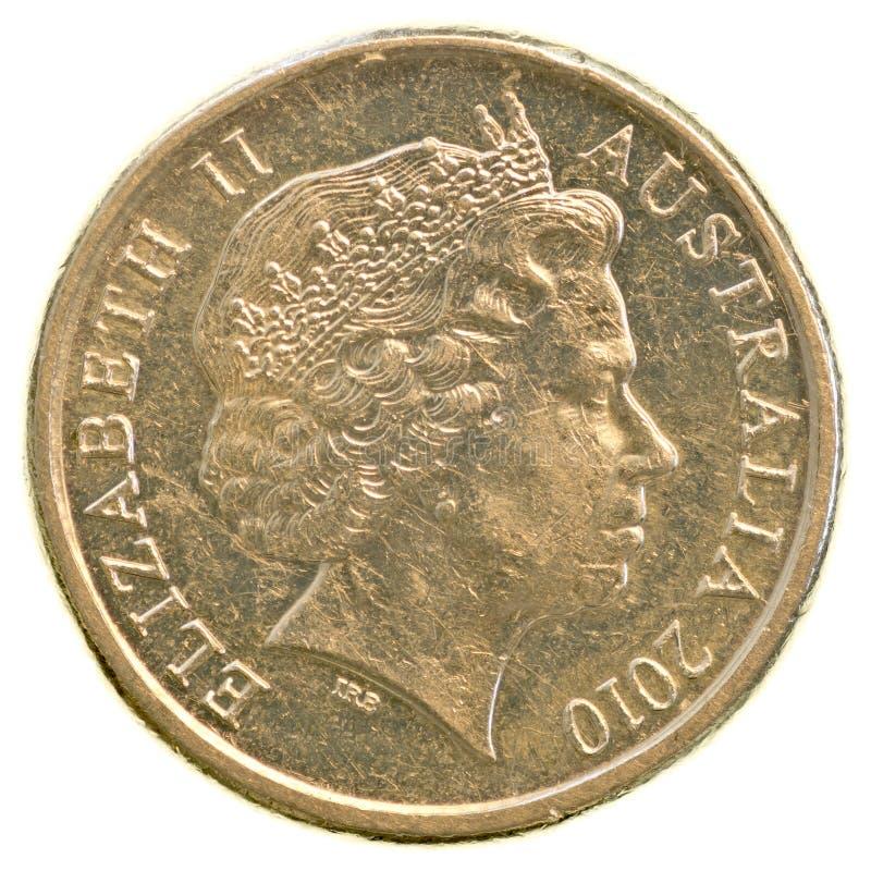 Mynt för australisk dollar 2 arkivfoton