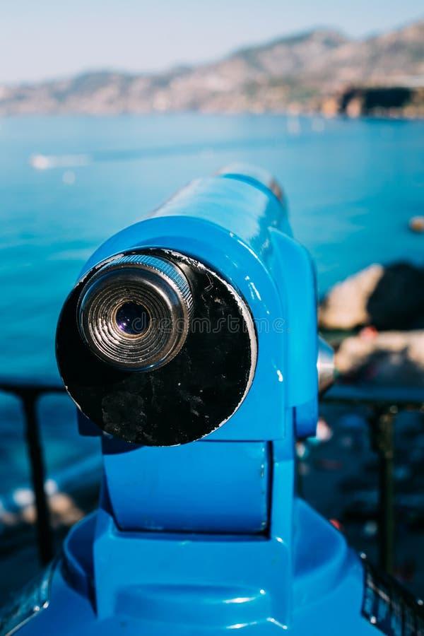 Mynt fungeringsteleskop för sight fotografering för bildbyråer