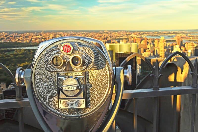 Mynta fungeringskikare, överkanten av vagga (New York City) arkivbilder