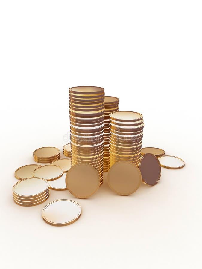 myntpengarbunt stock illustrationer