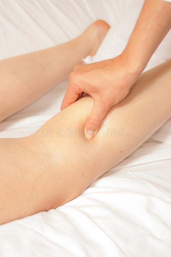 Download Myotherapy And Trigger Points On Athlete's Foot Stock Image - Image: 25235055