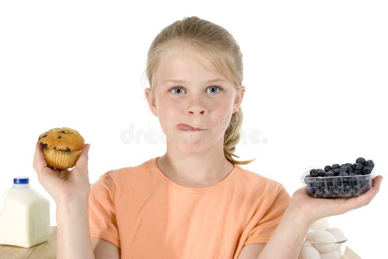 Download Myrtille Miffins photo stock. Image du enfant, bake, affamé - 736098