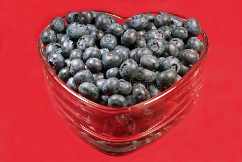 Myrtilles Heart-healthy photo libre de droits