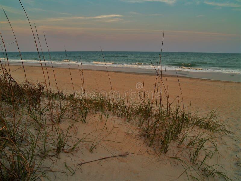 Myrtle Beach, Carolina Sunset del sud immagini stock libere da diritti