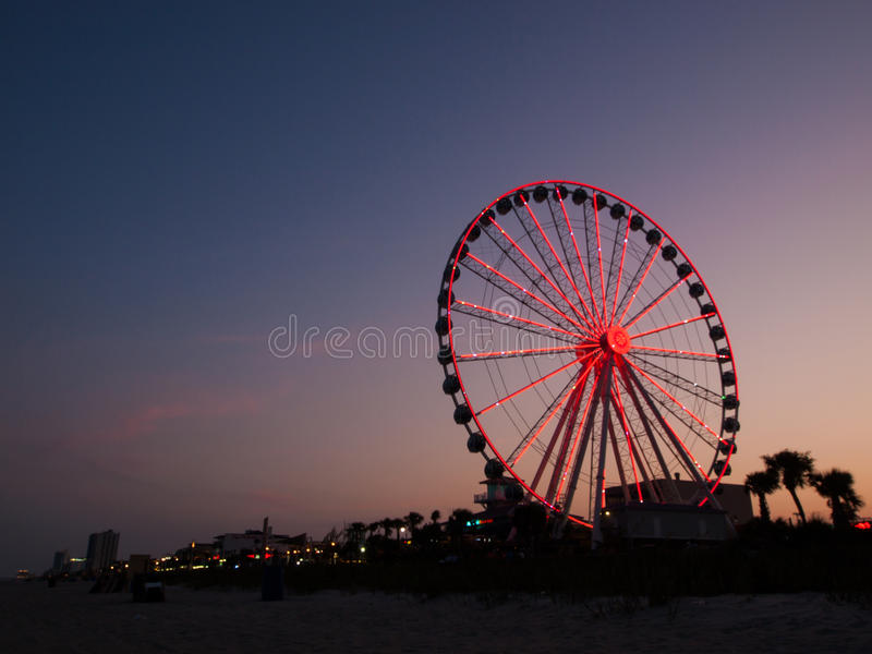Myrtle Beach. Is a coastal city on the east coast of the United States in Horry County, South Carolina stock images