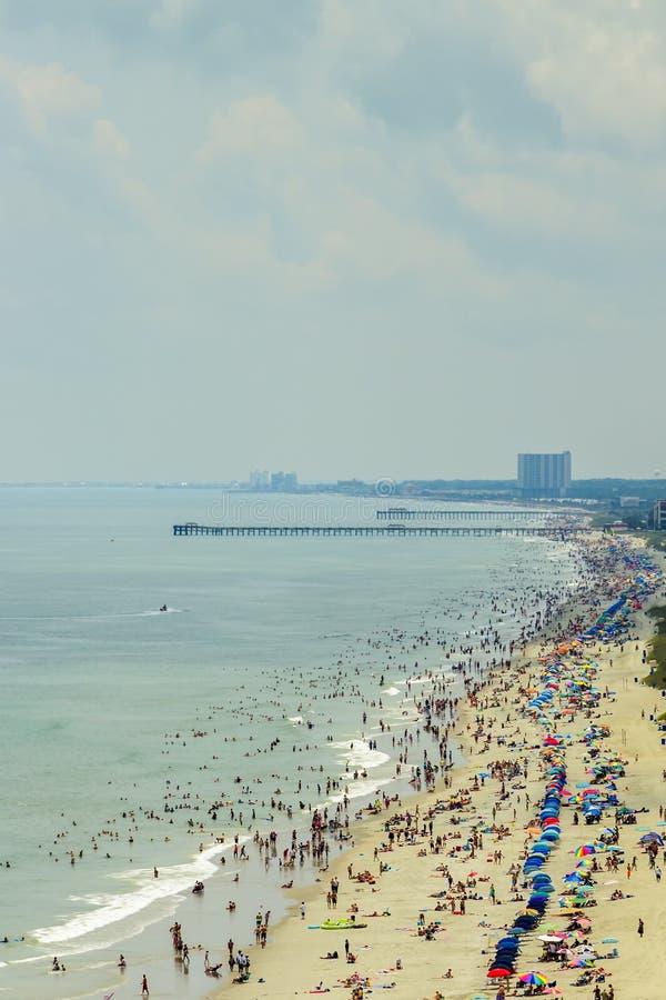 Myrtle Beach del sud immagine stock