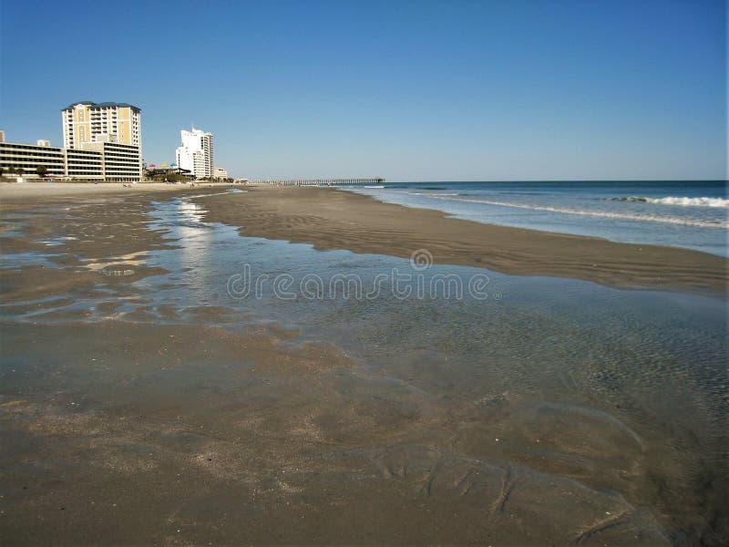 Myrtle Beach Morning royalty free stock photo