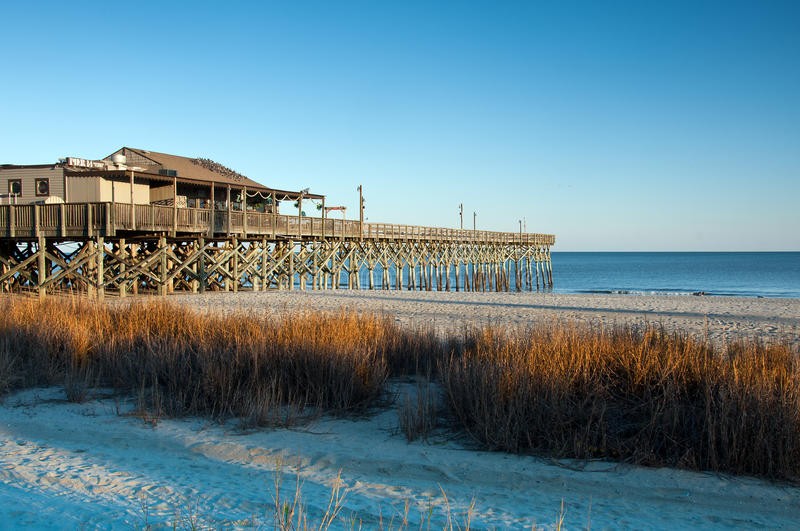 Download Myrtle Beach Pier Royalty Free Stock Images - Image: 22912799