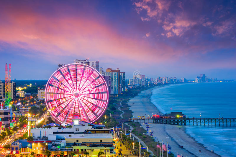 Myrtle Beach, South Carolina, USA royalty free stock photography