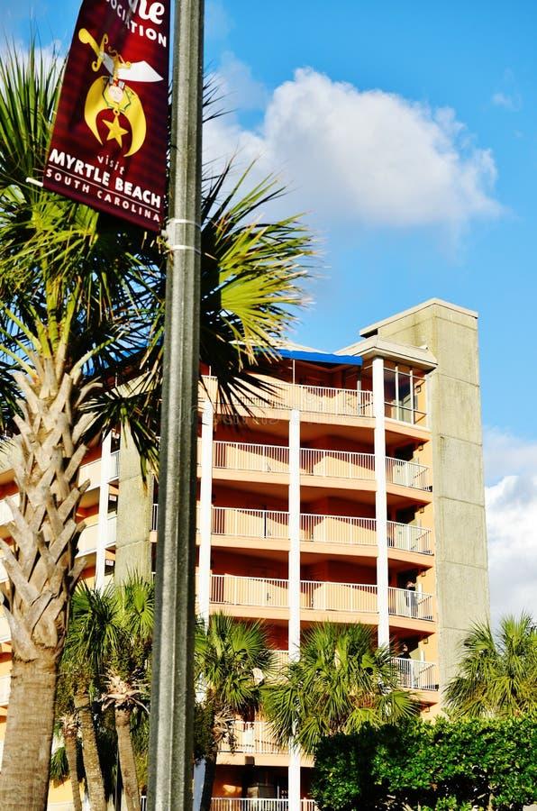 Myrtle Beach South Carolina Usa Modern Hotel Editorial