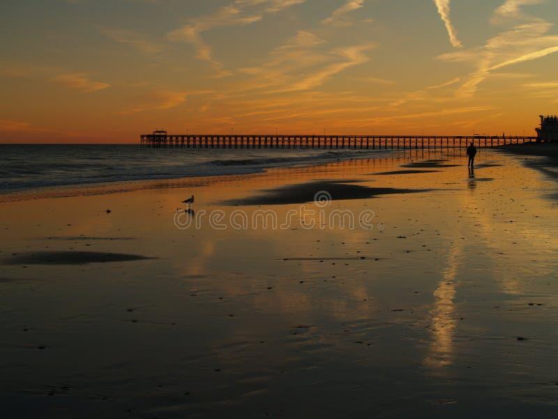 Myrtle Beach Sunset fotos de archivo