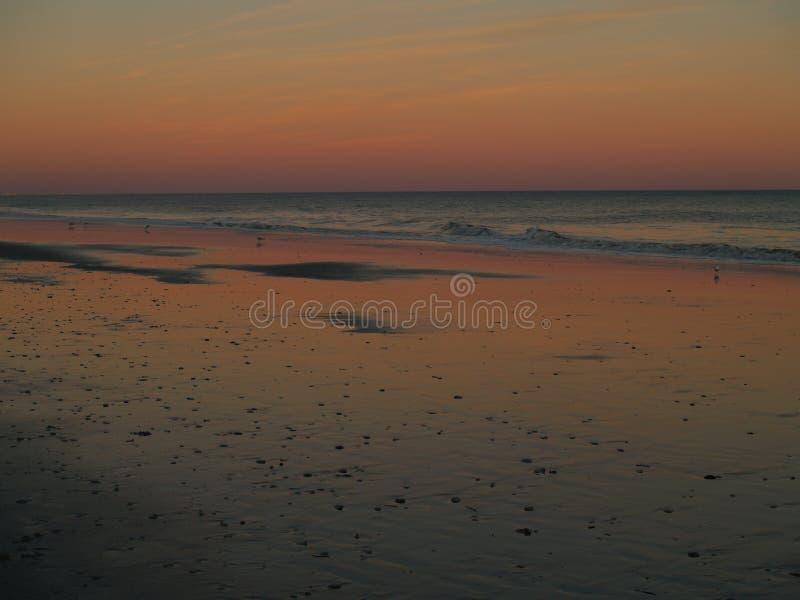 Myrtle Beach Sunset stock photo