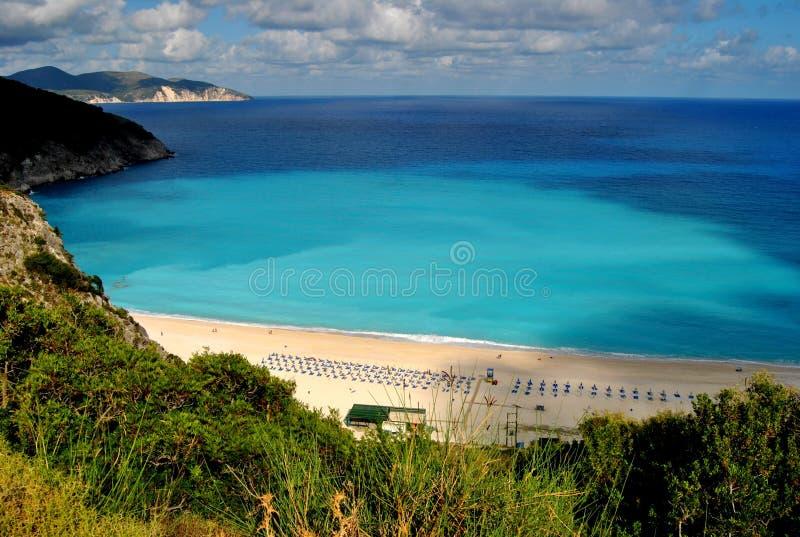 Myrtos Beach stock photos