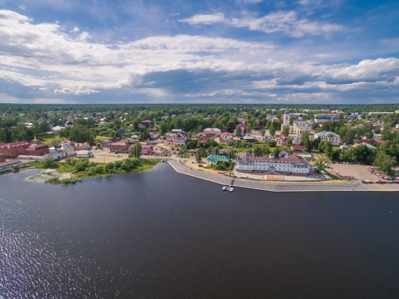 Myshkin town, Russia. Myshkin town, Volga river, Russia stock photography