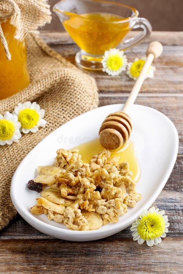 Mysli med honung arkivfoton