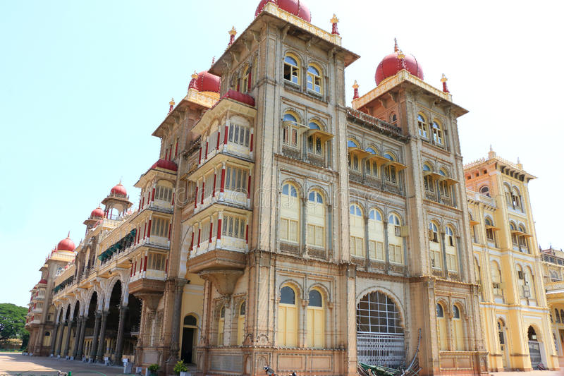 Mysore pałac, India obraz royalty free
