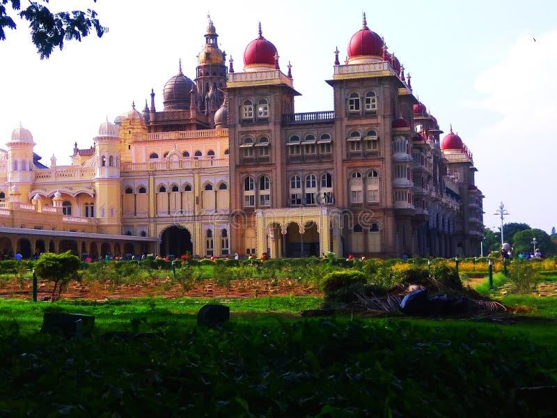 Mysore pa?ac, India obraz royalty free