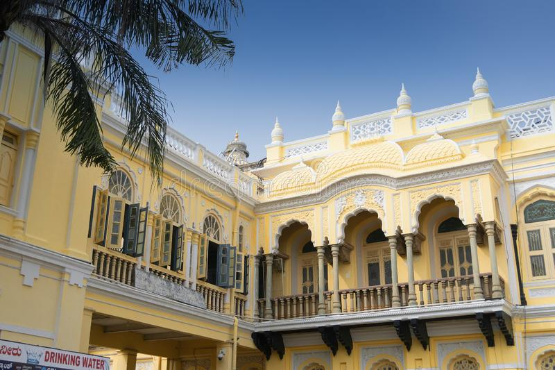 Mysore Palace, Karnataka, India. Mysore Palace is a historical palace and a royal residence at Mysore in the Indian State of Karnataka. It is now the second most royalty free stock images