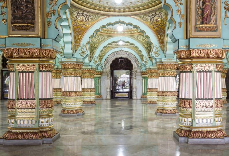 Mysore-Palast, Indien stockbilder