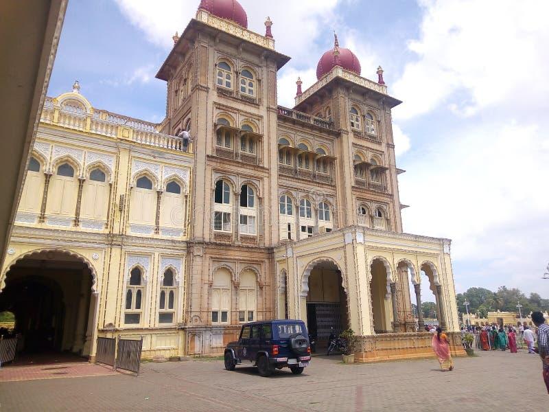 Mysore-Palast, Indien lizenzfreies stockfoto