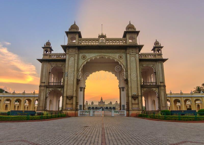 Mysore-Palast, Indien stockfotos