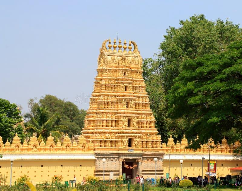 Mysore-Palasttor stockfoto