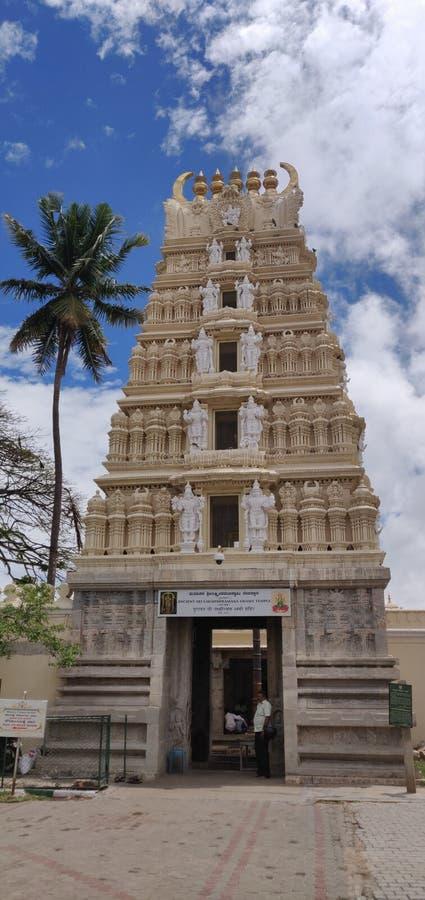 Mysore ställe, Karnataka arkivfoto
