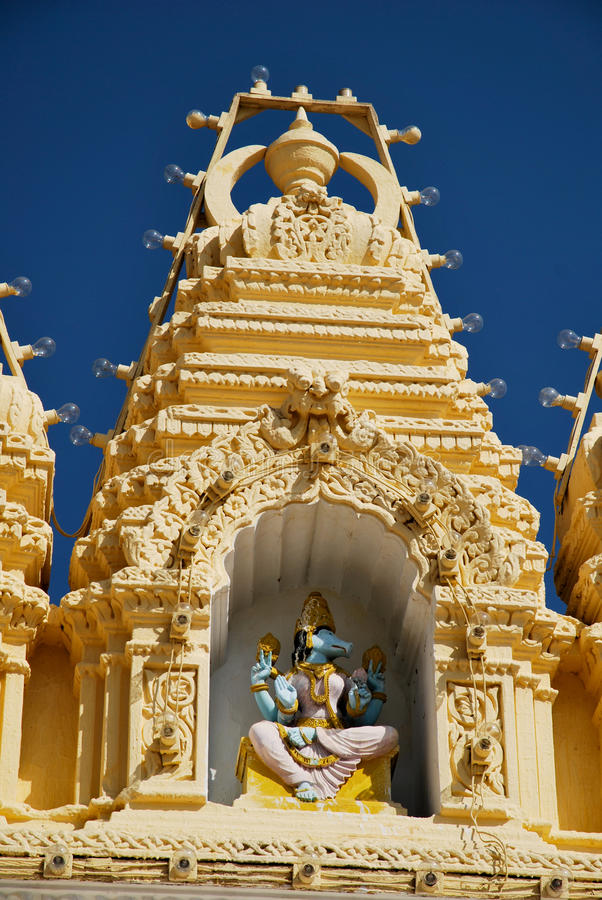 Mysore temple in India royalty free stock photos