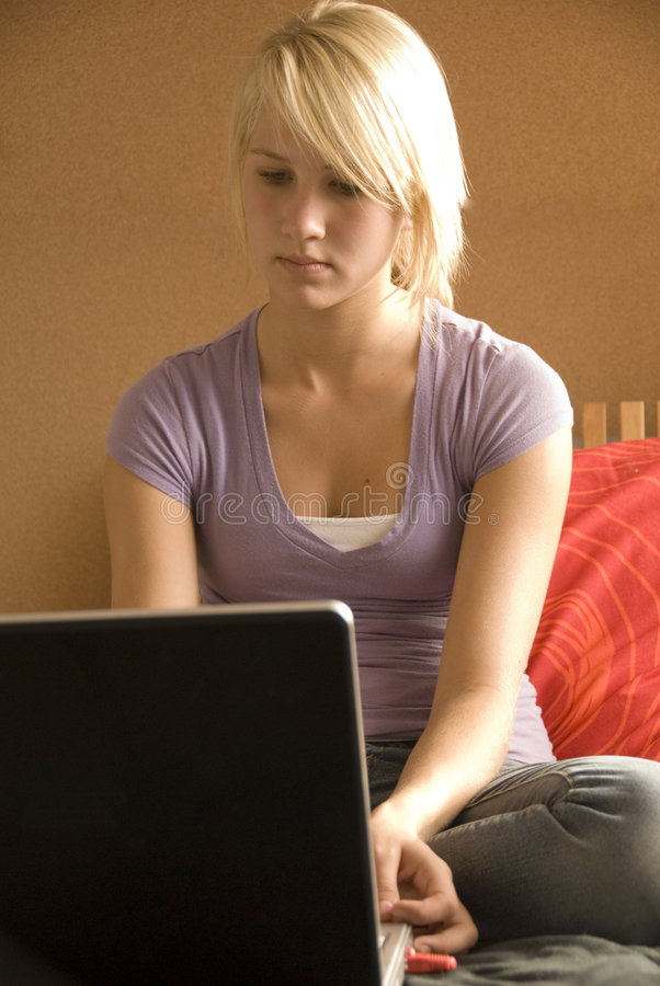 Download MySpace stock image. Image of laptop, write, notebook - 1422239