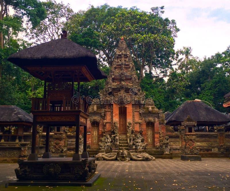 Mystère des temples de Balinese images stock