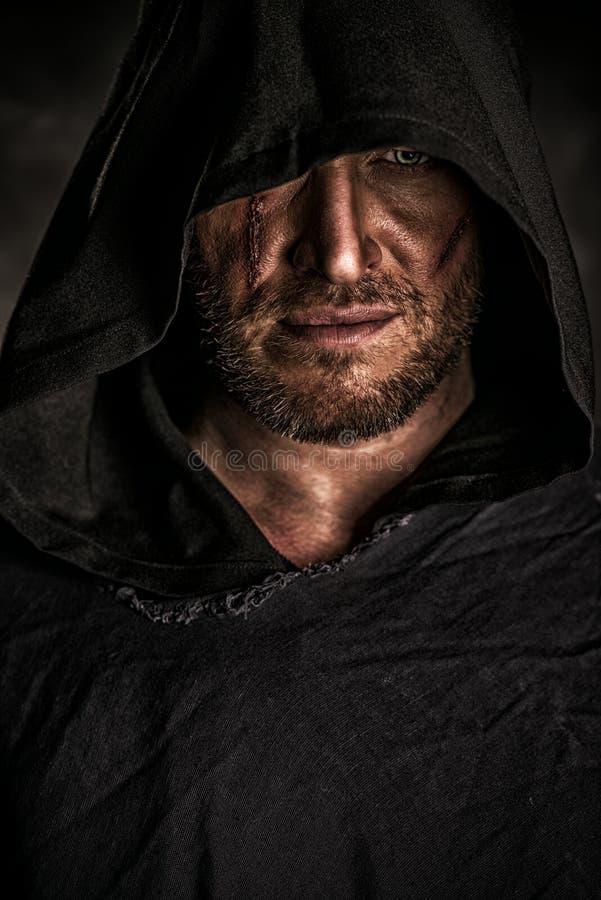 Mysteriöser Krieger lizenzfreie stockfotos