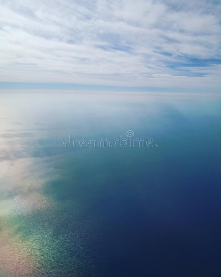 Mysteriöser Sonnenaufgang lizenzfreies stockfoto