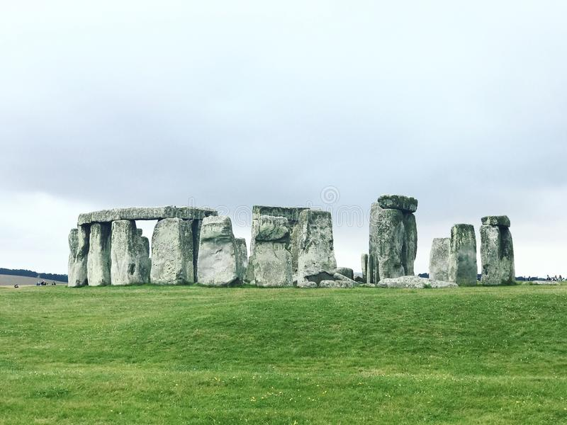 The Mysteries of Stone Henge royalty free stock photography