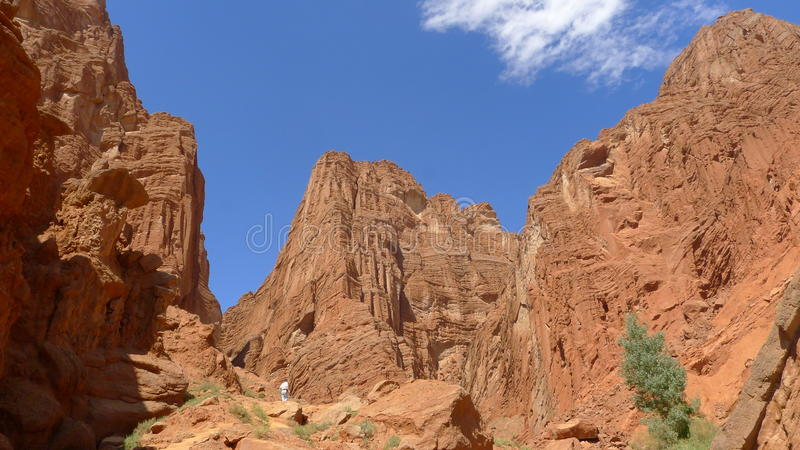 Download Mysterious Canyon In Tianshan Mountain Stock Photo - Image: 32196110