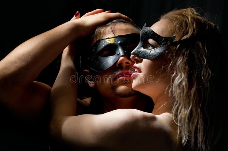 Download Mysterious coupl stock photo. Image of fancy, close, heterosexuality - 22572682