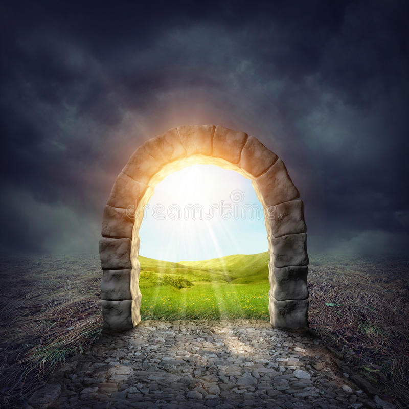 Free Mysterious Entrance Royalty Free Stock Photos - 44814938