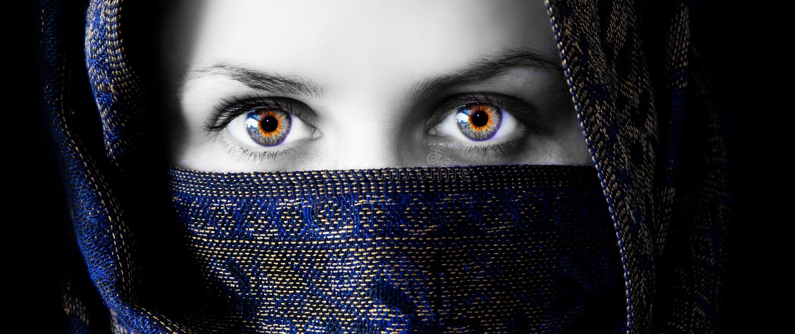 Download Mysterious Eyes Royalty Free Stock Image - Image: 15383896