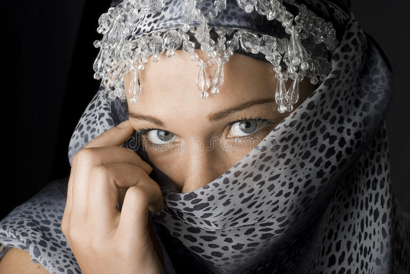 Download Mysterious Girl Stock Image - Image: 12832241