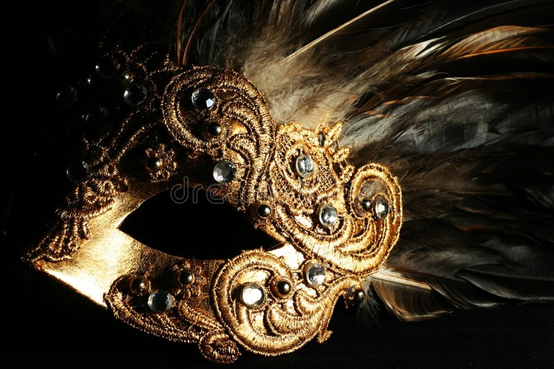 Download Mysterious mask stock image. Image of fantasy, black, carnival - 1685299
