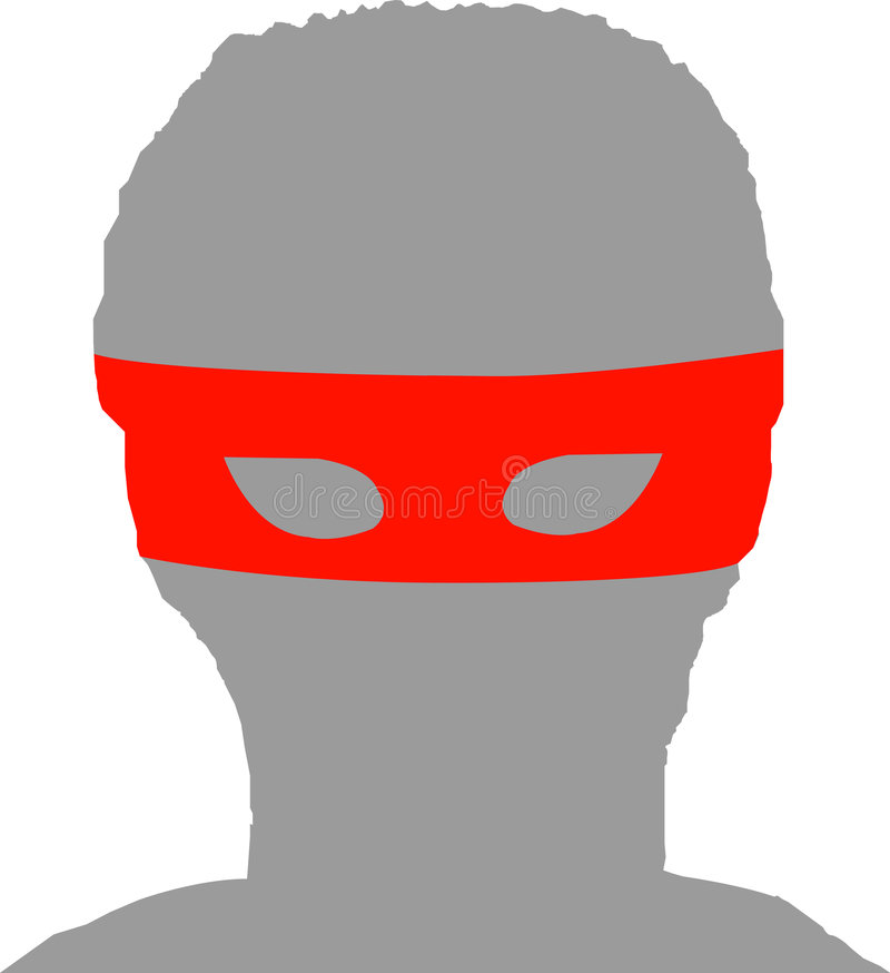 Download Mysterious Masked Silhouette Stock Vector - Illustration: 6742961
