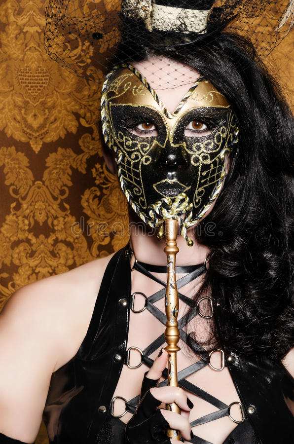 Download Mysterious Masquerade stock image. Image of masquerade - 24919489