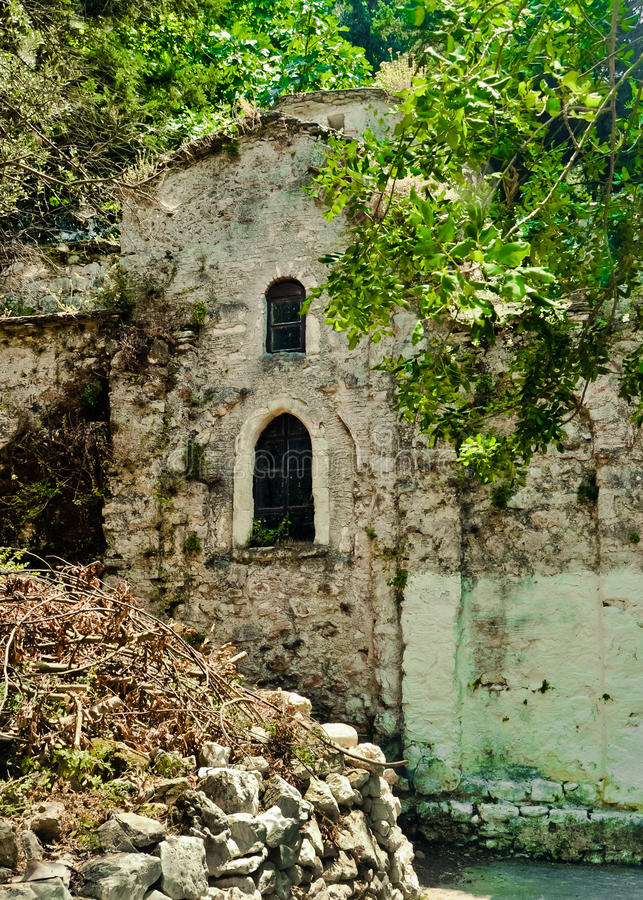 Mysterious Temples In World: Mysterious Orthodox Church In The Middle Of Forest, Samos