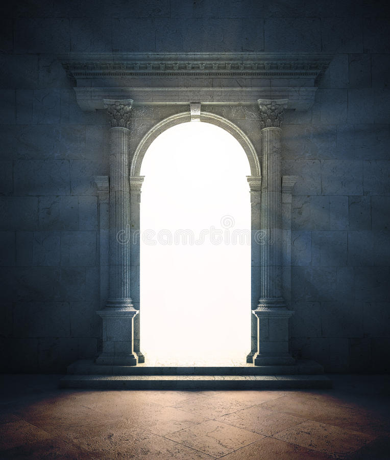 Free Mysterious Portal Stock Image - 34242611